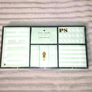 NWOT** Kate Spade Sticky Note Set